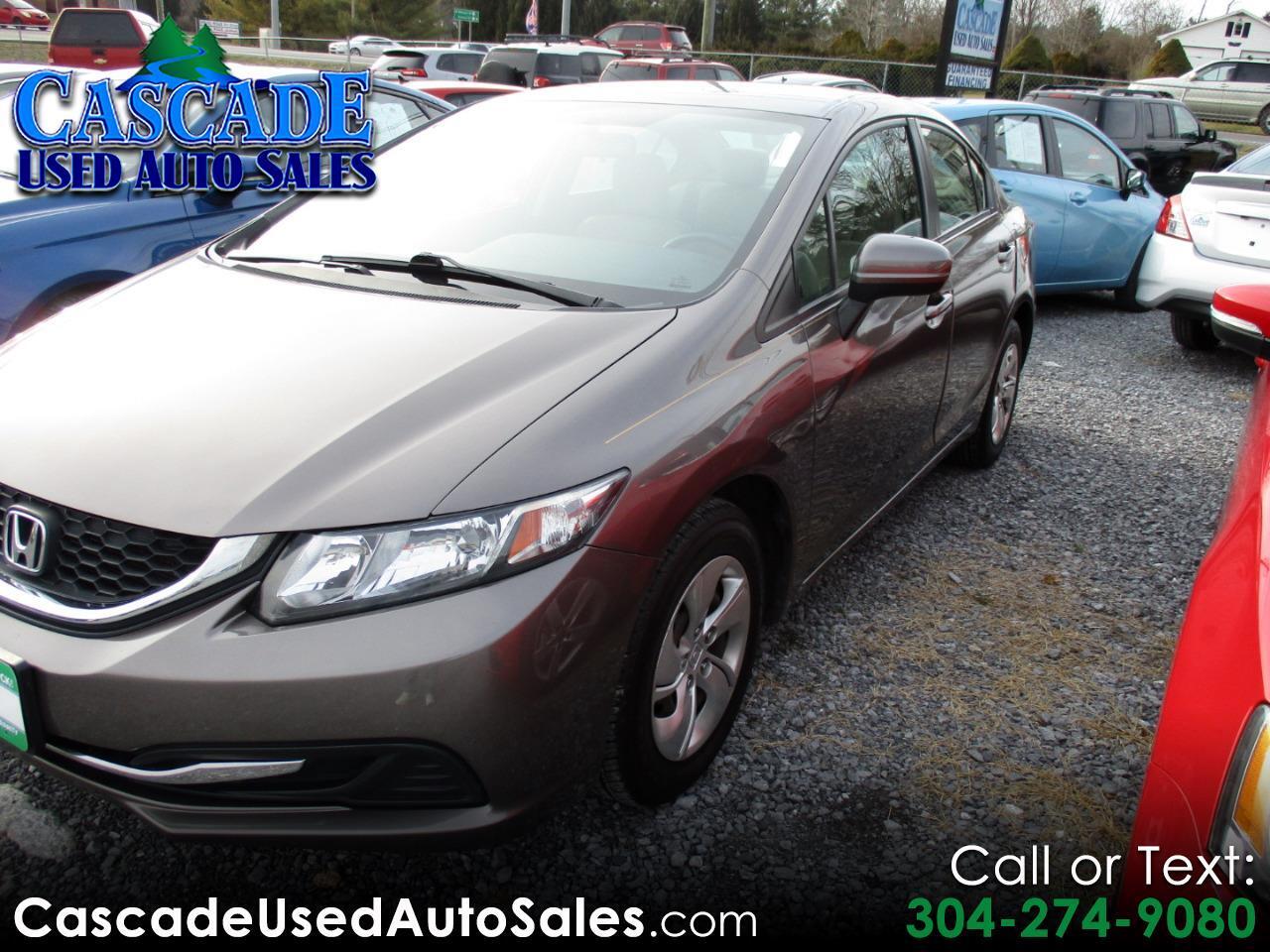 Honda Civic LX Sedan CVT 2014