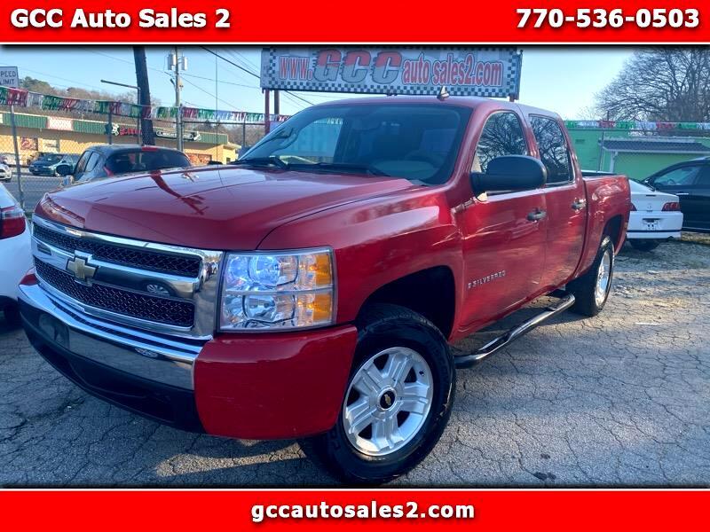 Used 2007 Chevrolet Silverado 1500 Lt1 Crew Cab 2wd For Sale In Gainesville Ga 30501 Gcc Auto Sales 2