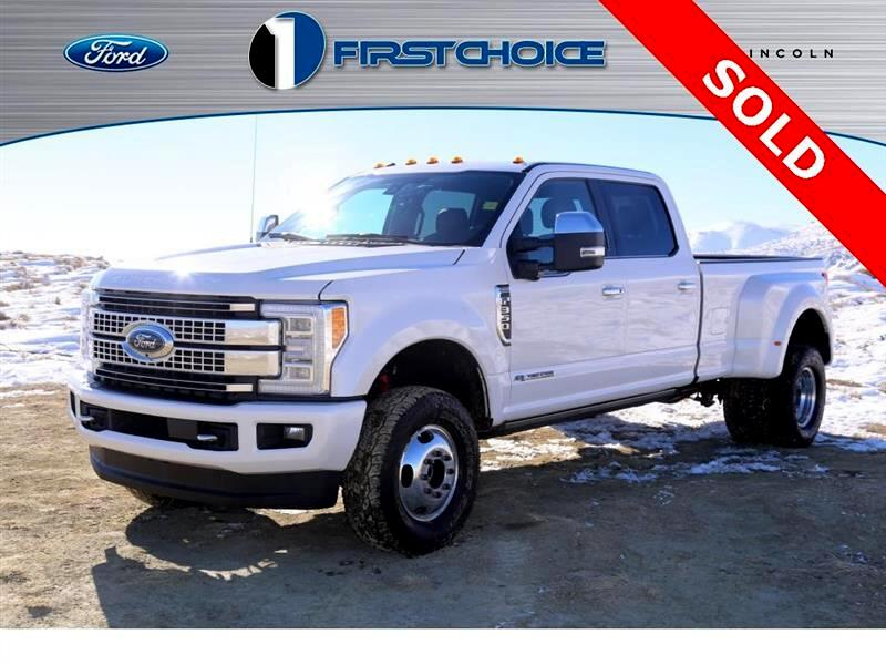2017 Ford F-350 SD Platinum