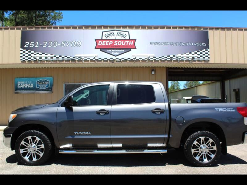 2013 Toyota Tundra 4WD Truck CrewMax 4.6L V8 6-Spd AT (Natl)