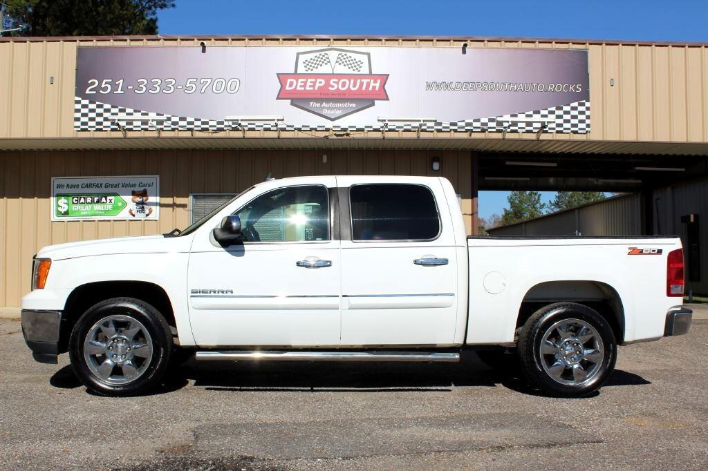 GMC Sierra 1500 SLE Crew Cab 2WD 2011
