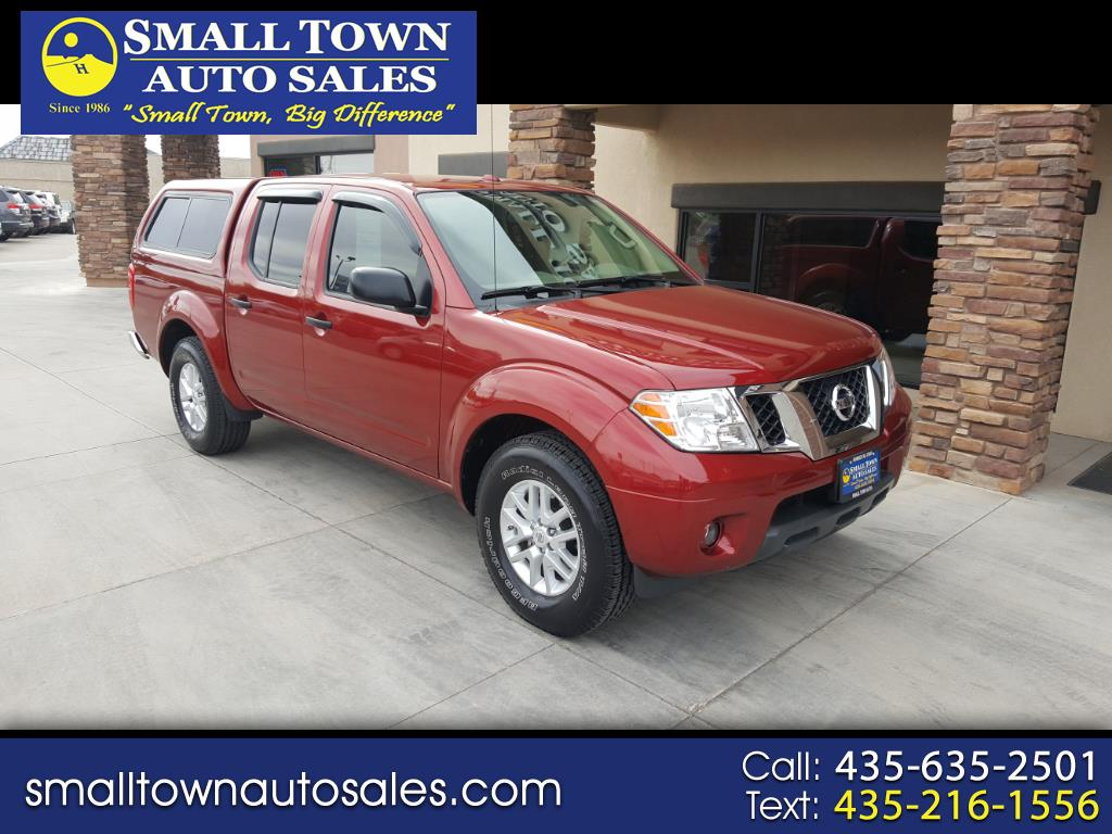 2015 Nissan Frontier SE V6 Crew Cab  4WD w/leather