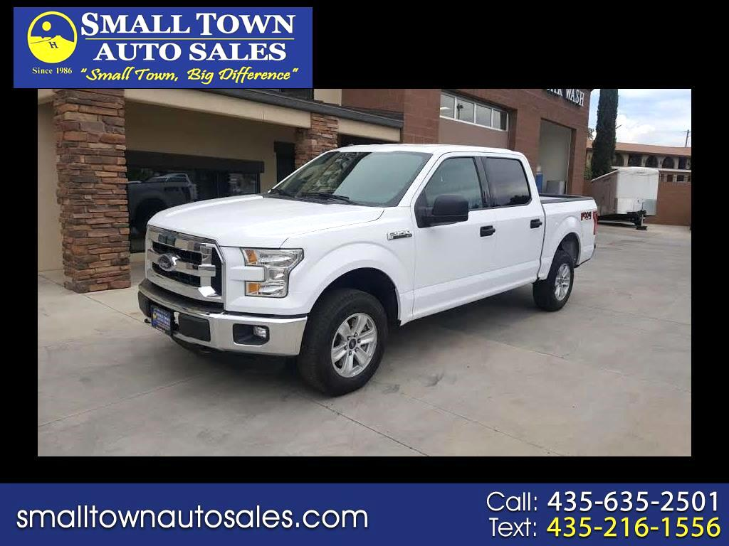 2016 Ford F-150 FX4 SuperCrew 4x4
