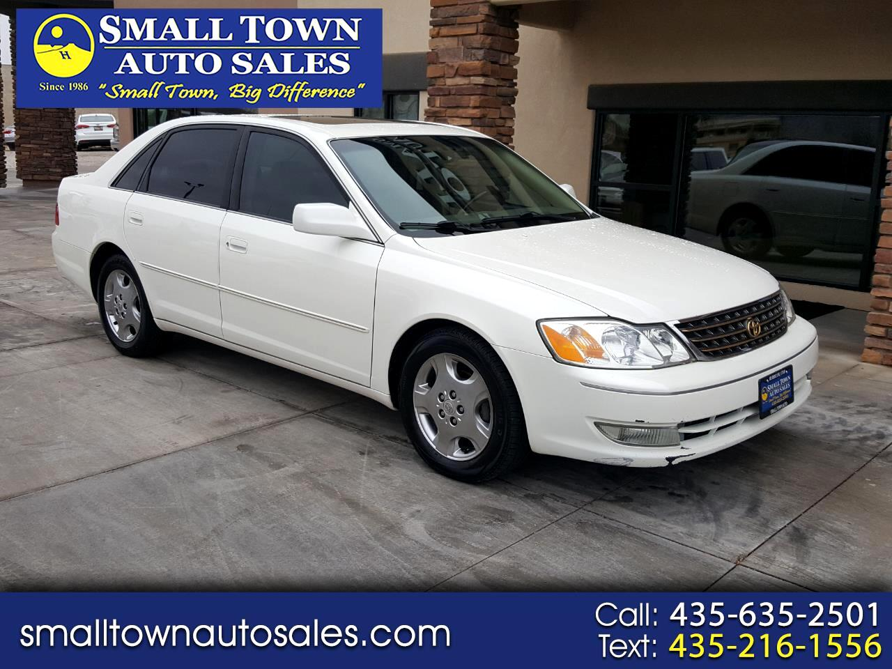2003 Toyota Avalon 4dr Sdn XL w/Bucket Seats (Natl)