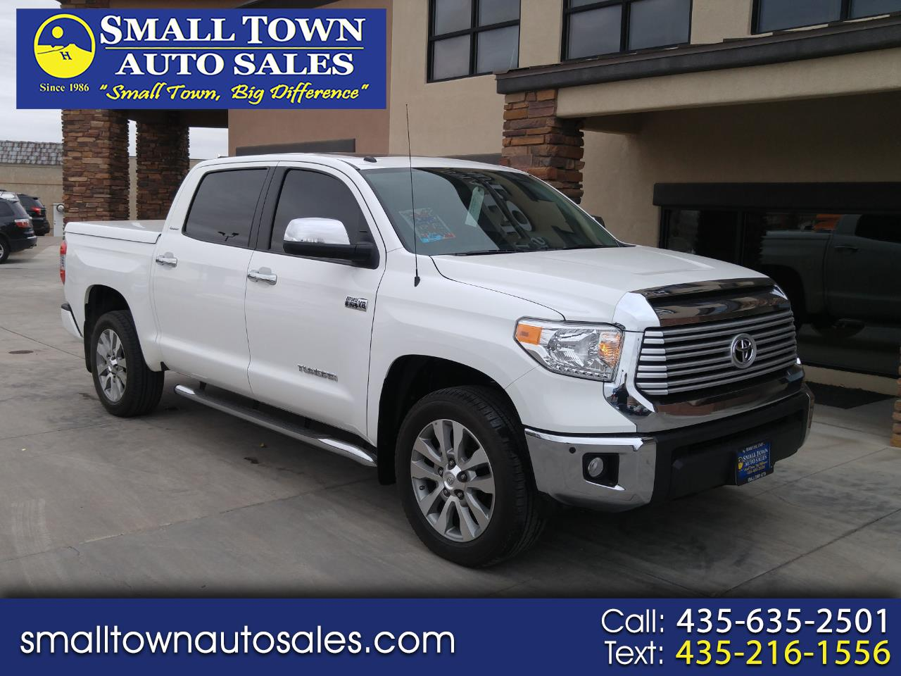 2015 Toyota Tundra 4WD Truck CrewMax 5.7L V8 6-Spd AT LTD (Natl)