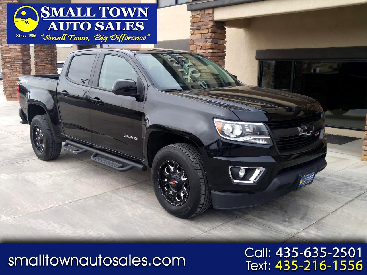 "2016 Chevrolet Colorado 4WD Crew Cab 128.3"" Z71"