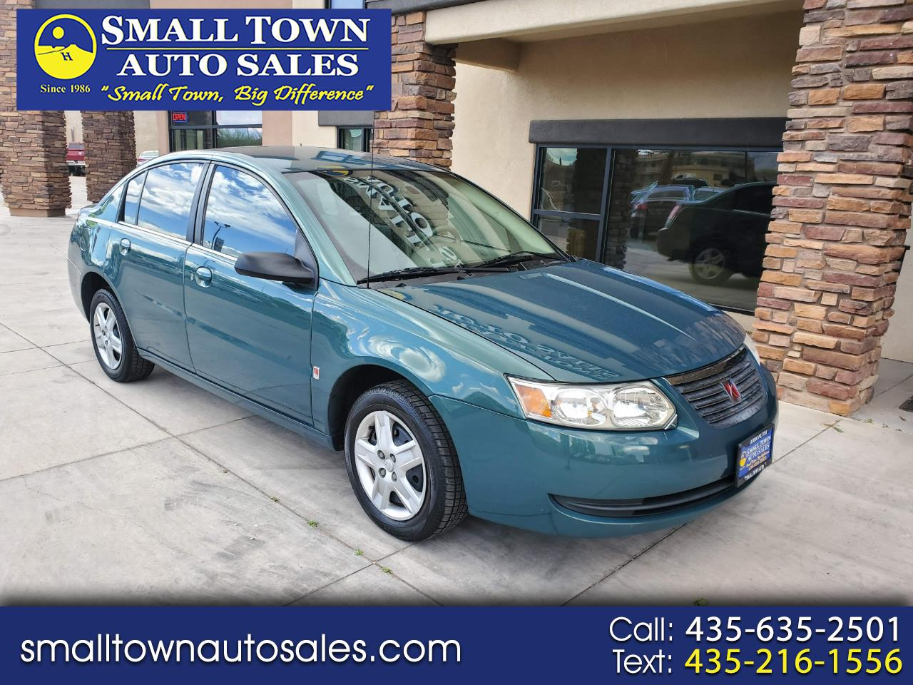 2007 Saturn ION 4dr Sdn Auto ION 2