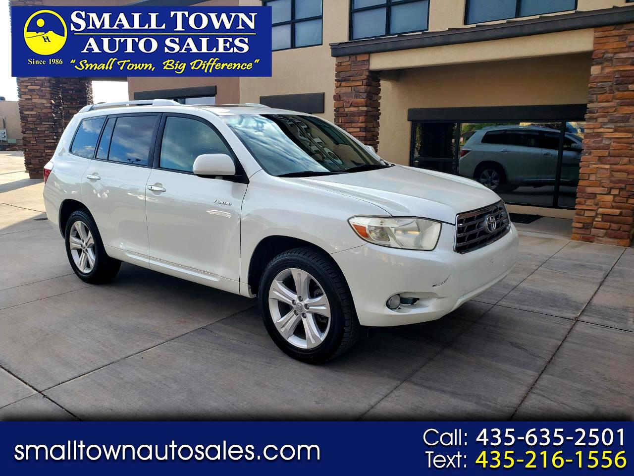 2009 Toyota Highlander 4WD 4dr V6  Limited (Natl)