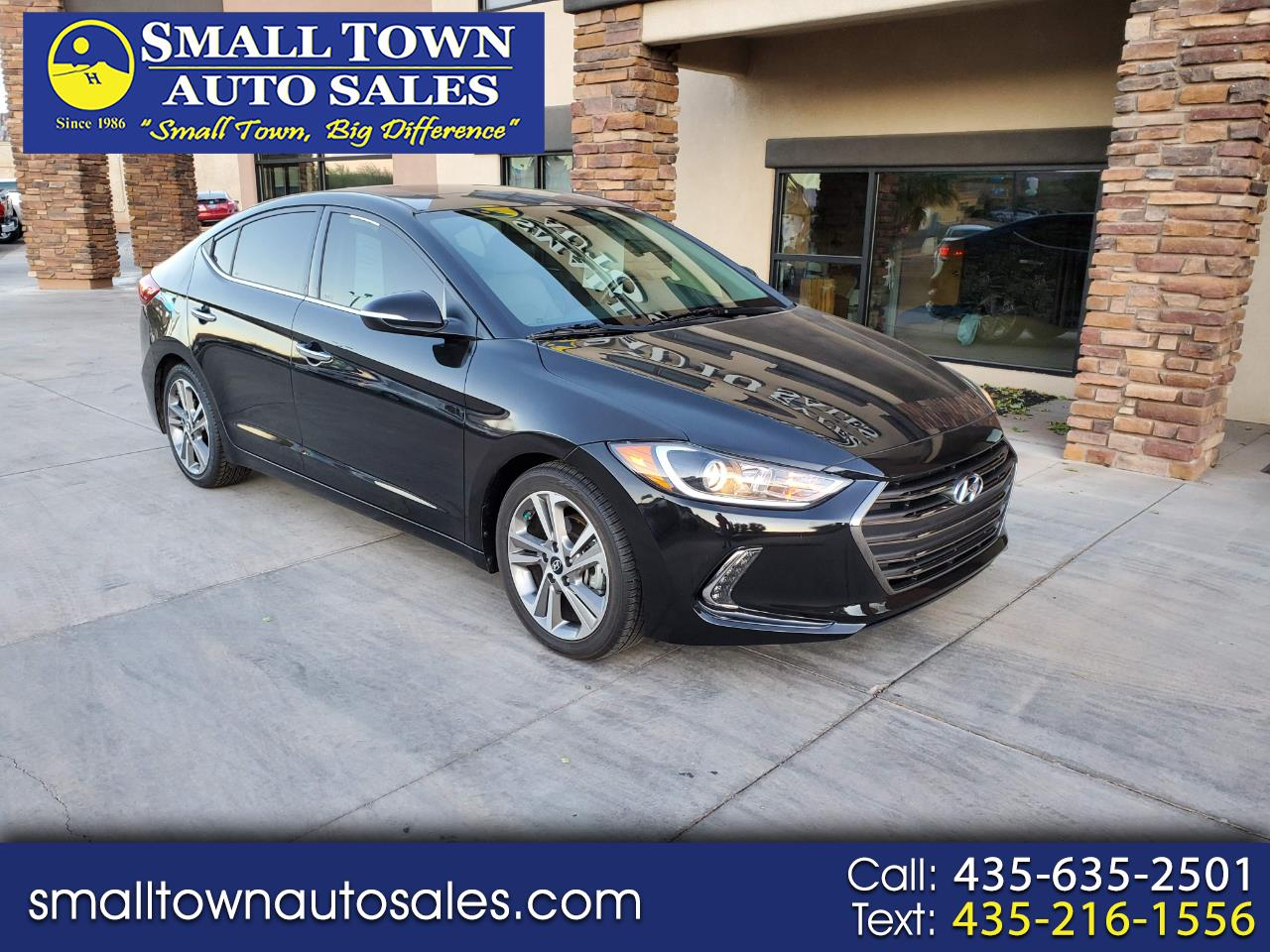 2017 Hyundai Elantra Limited 2.0L Auto (Alabama) *Ltd Avail*