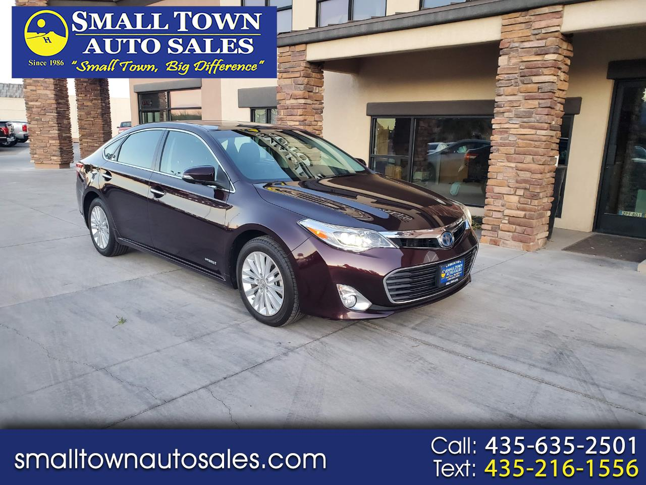 Toyota Avalon Hybrid 4dr Sdn Limited (Natl) 2013