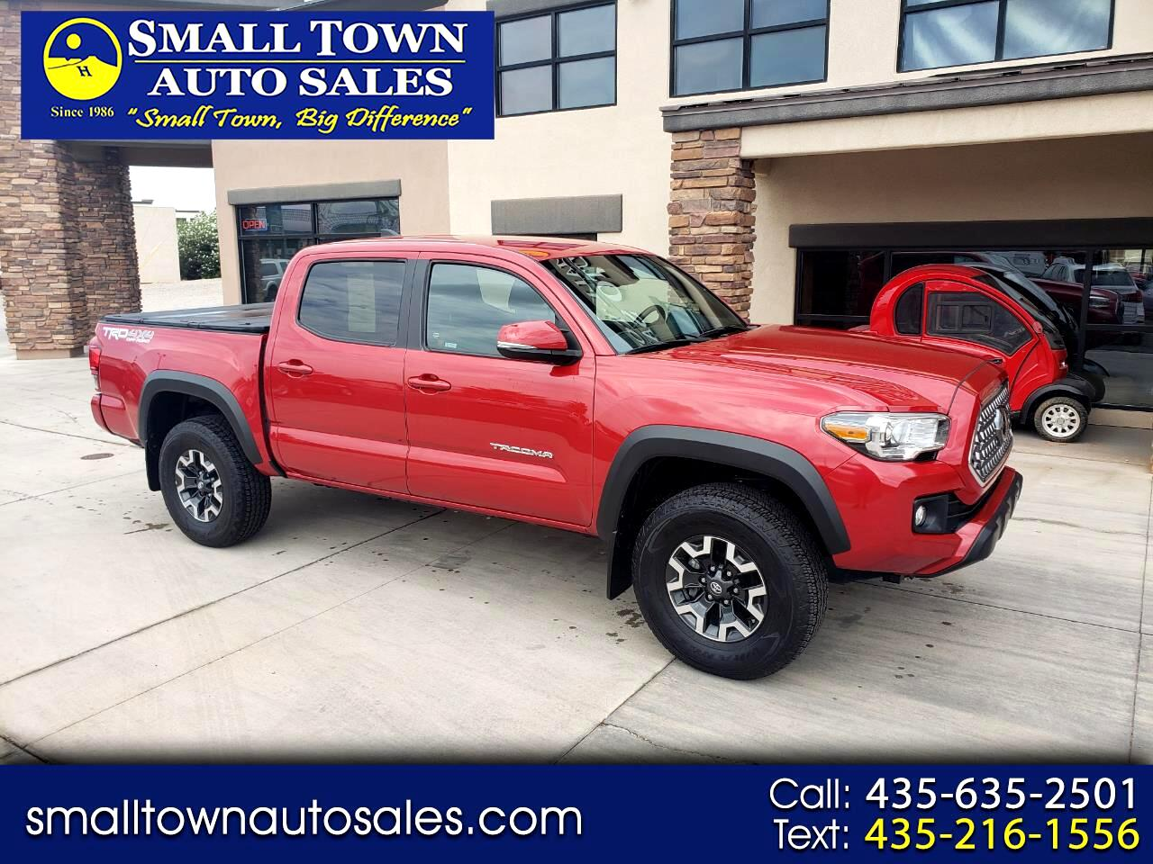 Toyota Tacoma TRD Off Road Double Cab 5' Bed V6 4x4 MT (Natl) 2019