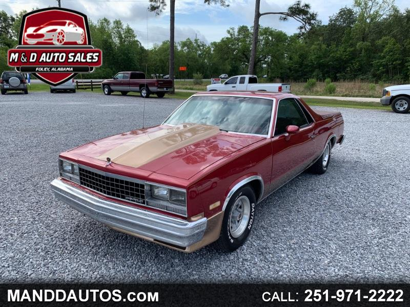 1984 Chevrolet El Camino Regular Cab 2WD