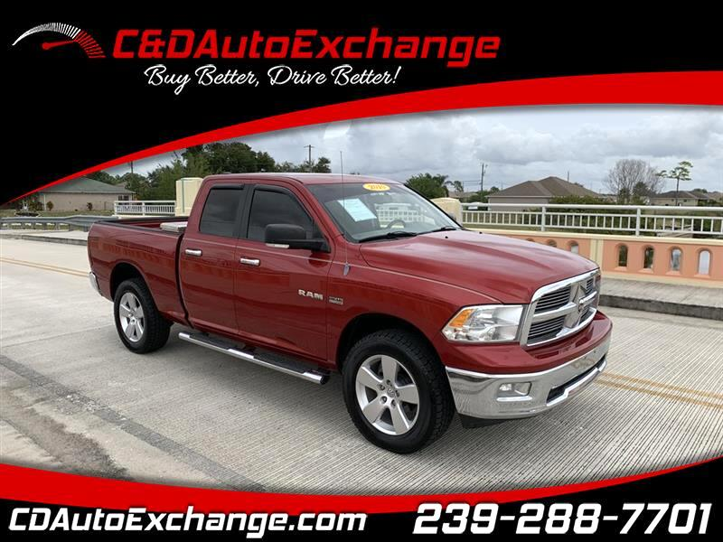 Dodge 1500 SLT Quad Cab 4WD 2010