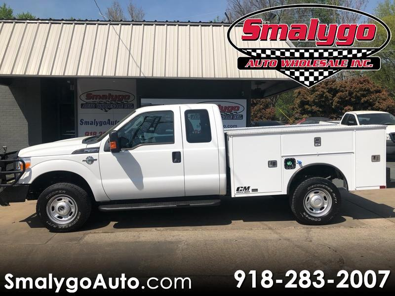 2016 Ford F-350 SD XL SuperCab Long Bed 4WD