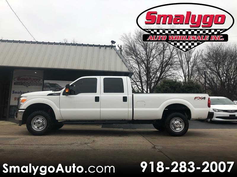 Ford F-250 SD FX4 Crew Cab Long Bed 4WD 2015
