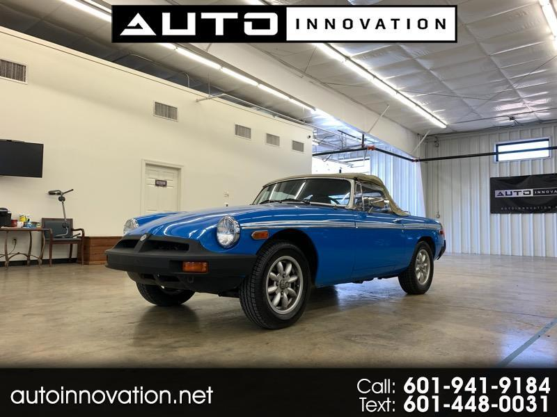 1979 MG MGB COUPE