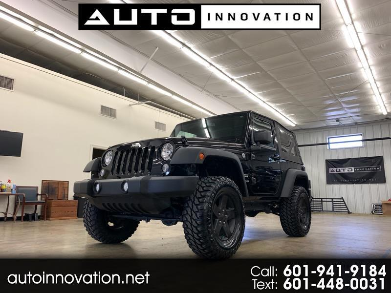 2015 Jeep Wrangler 2dr Sport