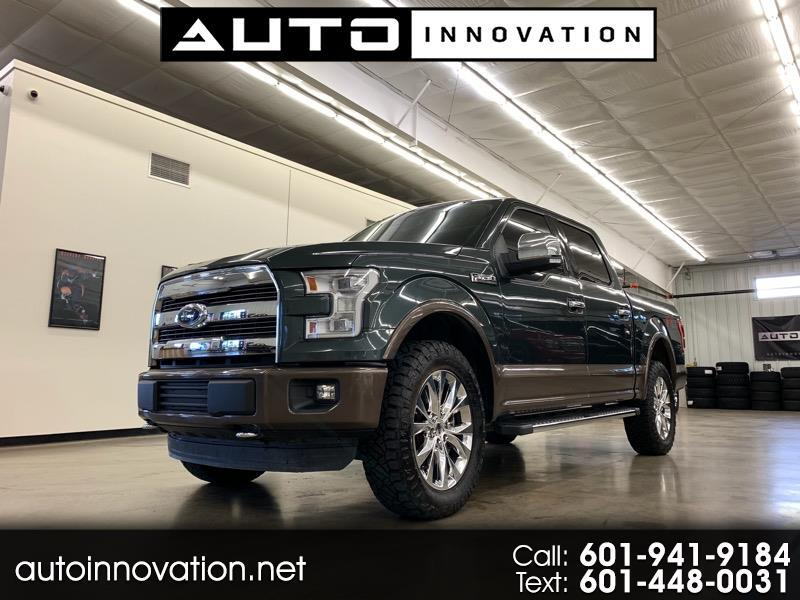 2015 Ford F-150 Lariat SuperCrew 4WD