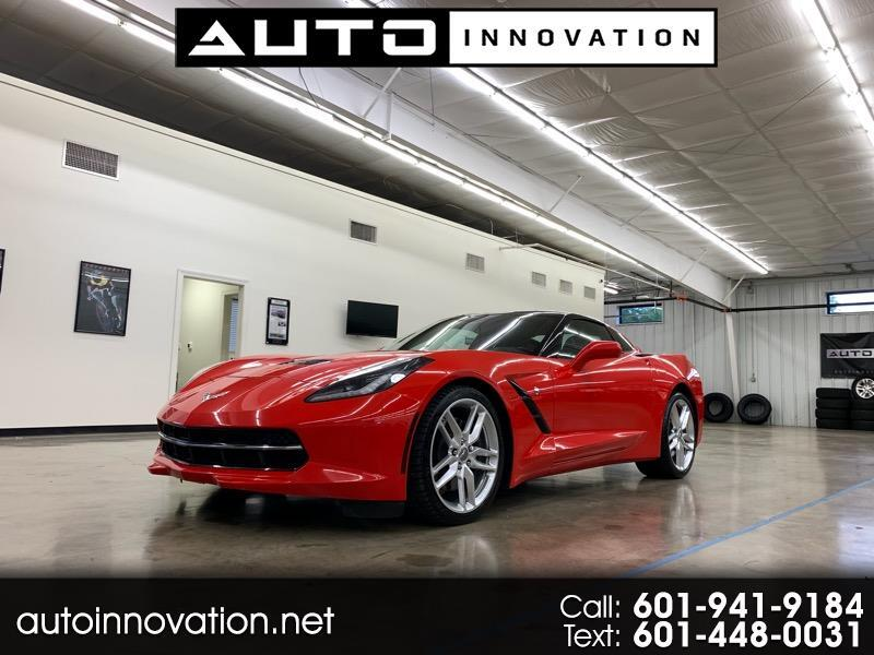 2014 Chevrolet Corvette 2dr Stingray Z51 Cpe w/3LT