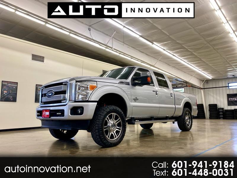 2015 Ford F-250 SD Platinum SuperCrew 4wd