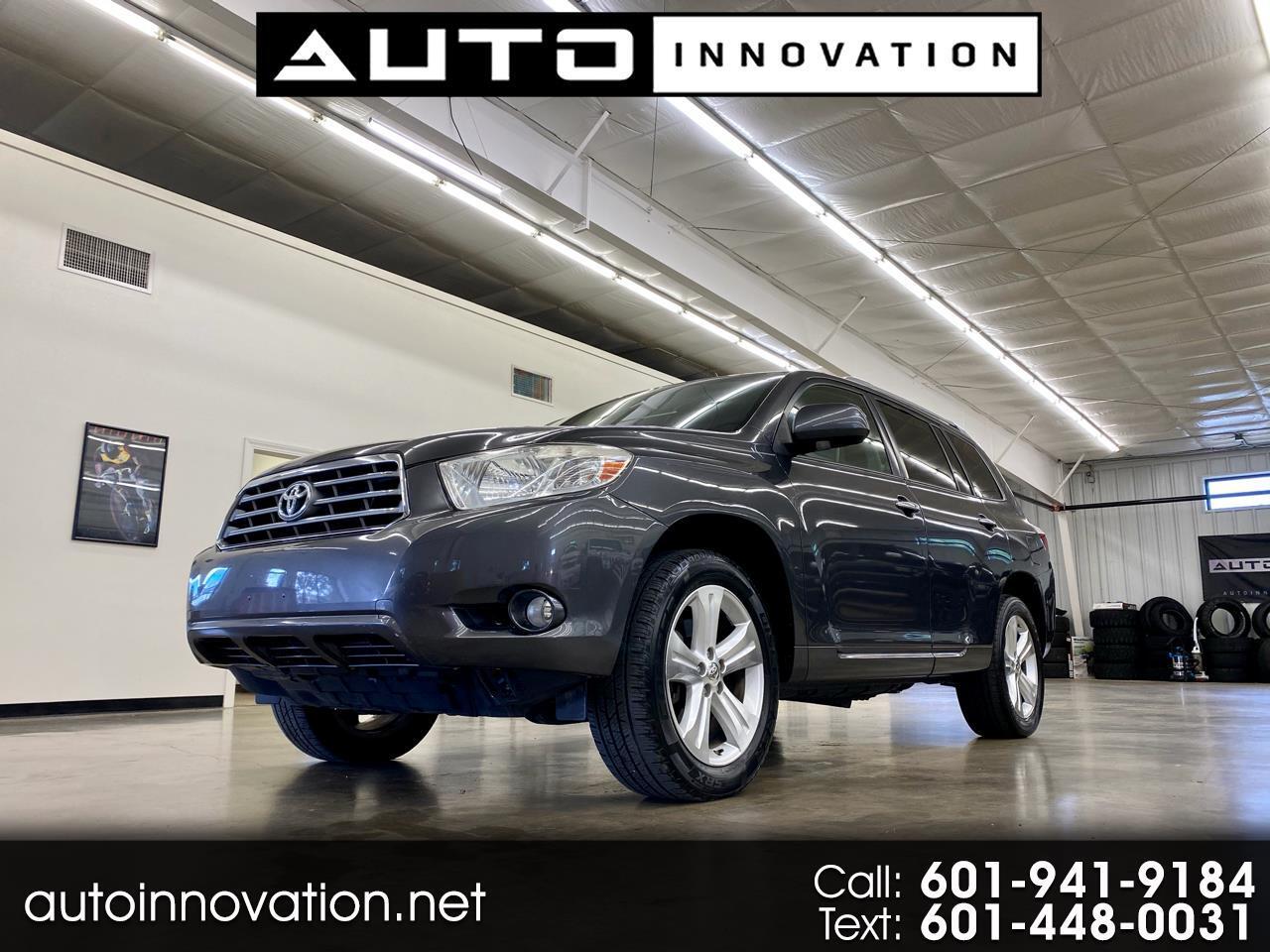 Toyota Highlander 4WD 4dr V6  Limited (Natl) 2010