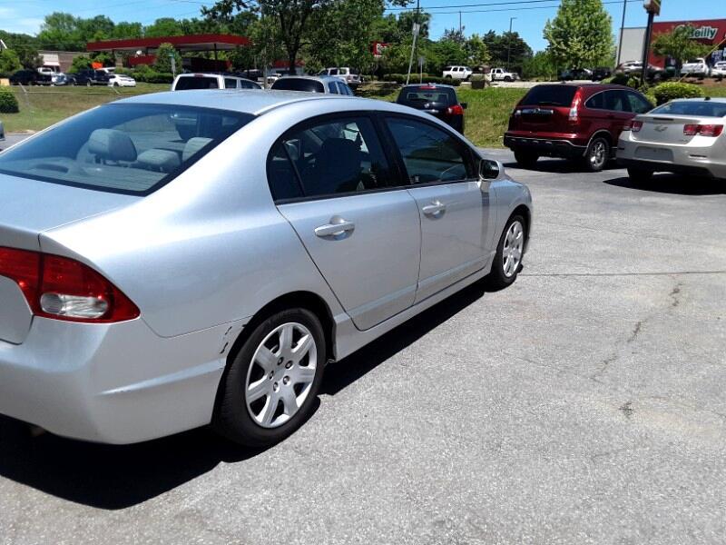 2011 Honda Civic LX Sedan 5-Speed AT