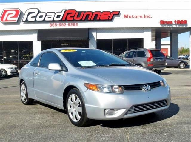 2007 Honda Civic LX Coupe 5-Speed MT
