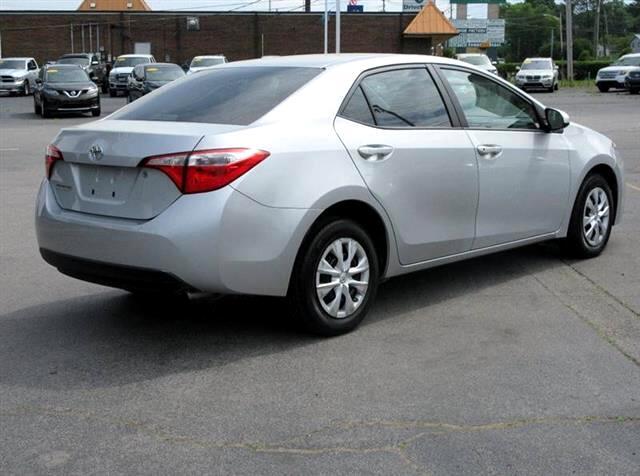 2015 Toyota Corolla L 5-Speed MT