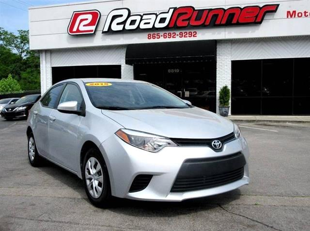 2015 Toyota Corolla L 5-Speed MT