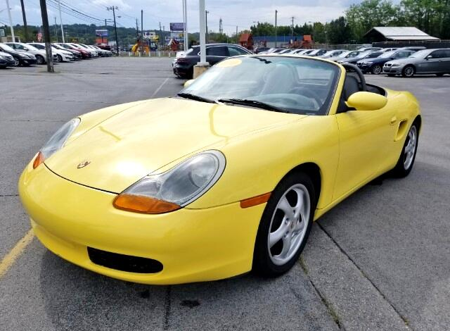 2000 Porsche Boxster 2dr Roadster 5-Spd Manual