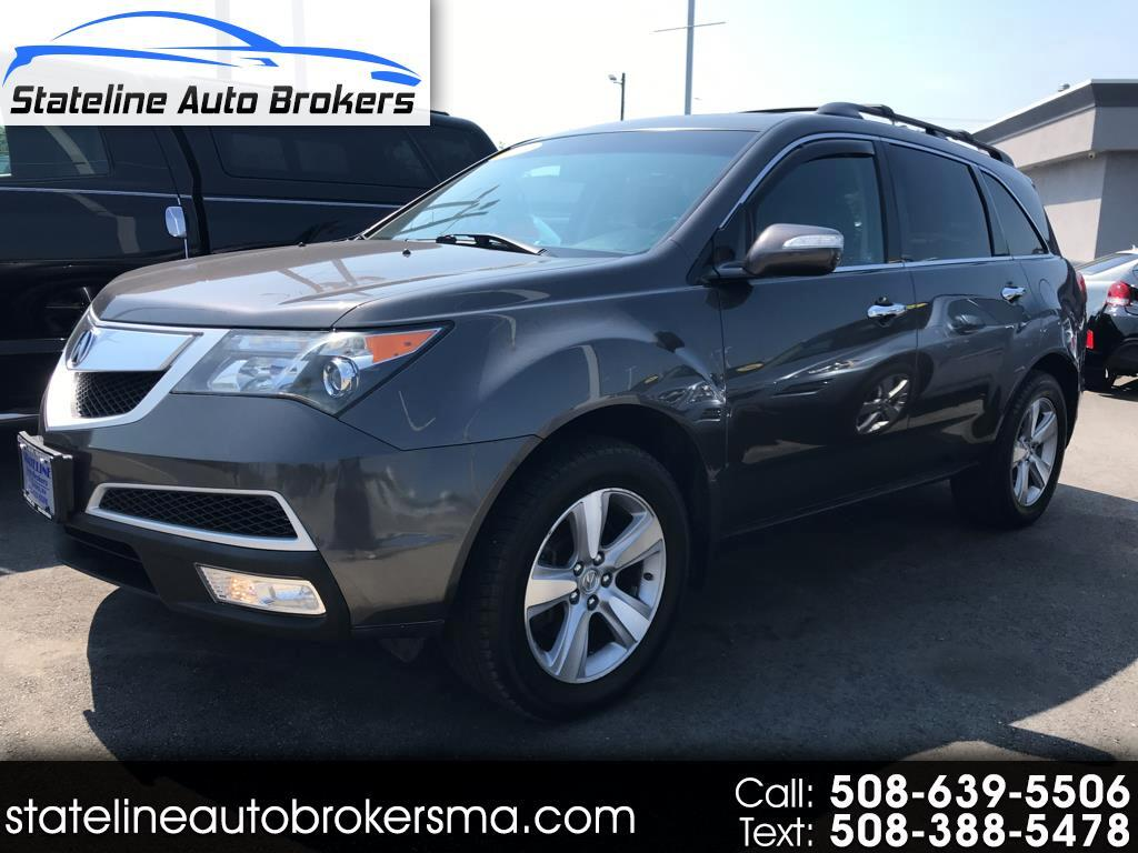 2011 Acura MDX 4dr SUV Touring Pkg