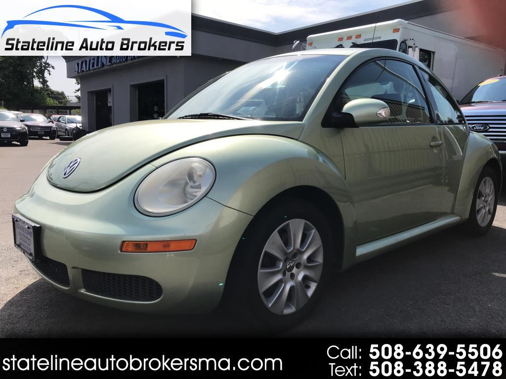 2008 Volkswagen New Beetle Coupe 2dr Man S PZEV
