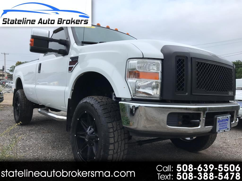"2010 Ford Super Duty F-350 SRW 4WD Reg Cab 137"" XL"