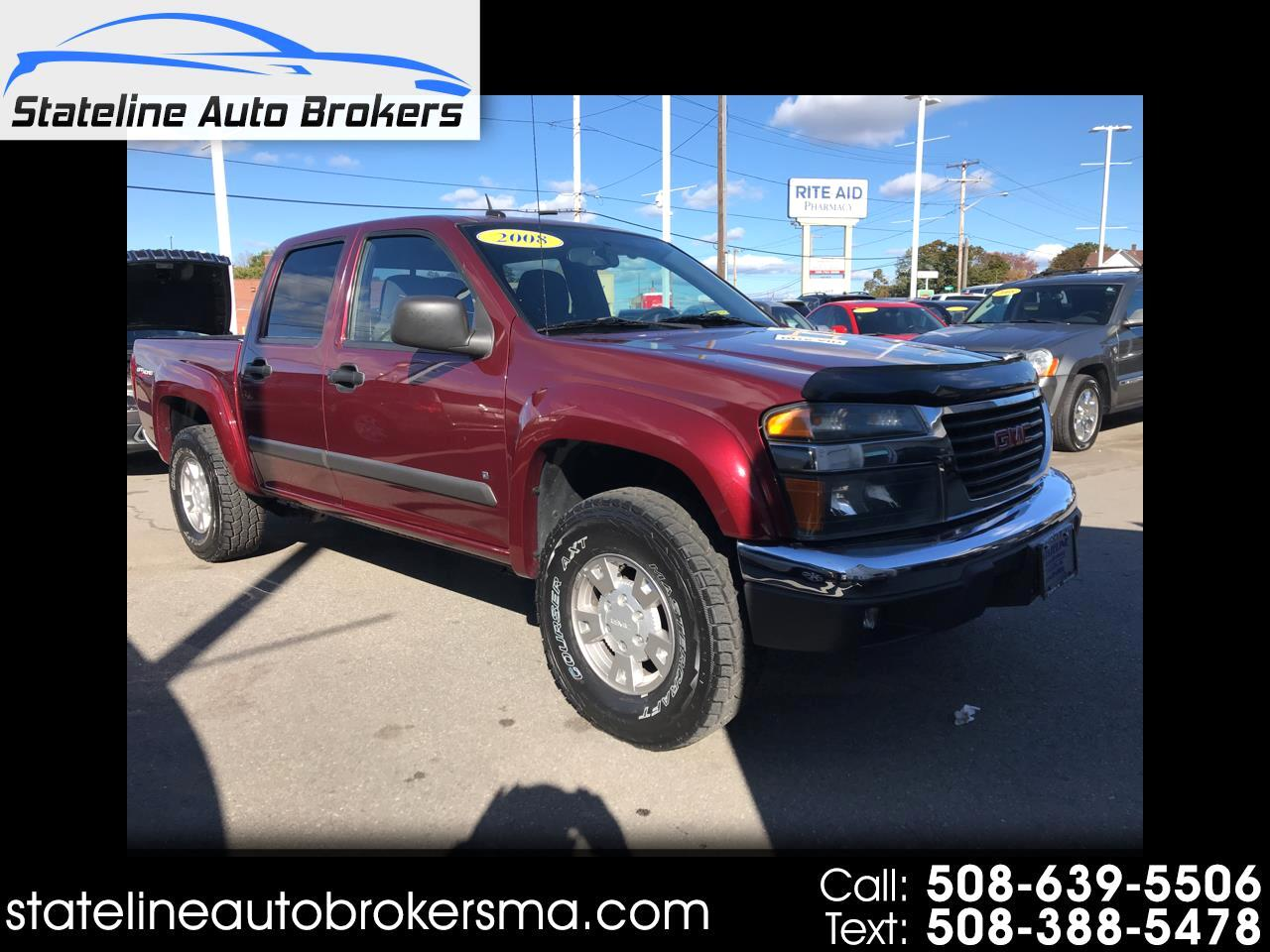 2008 GMC Canyon 4WD Crew Cab 126.0