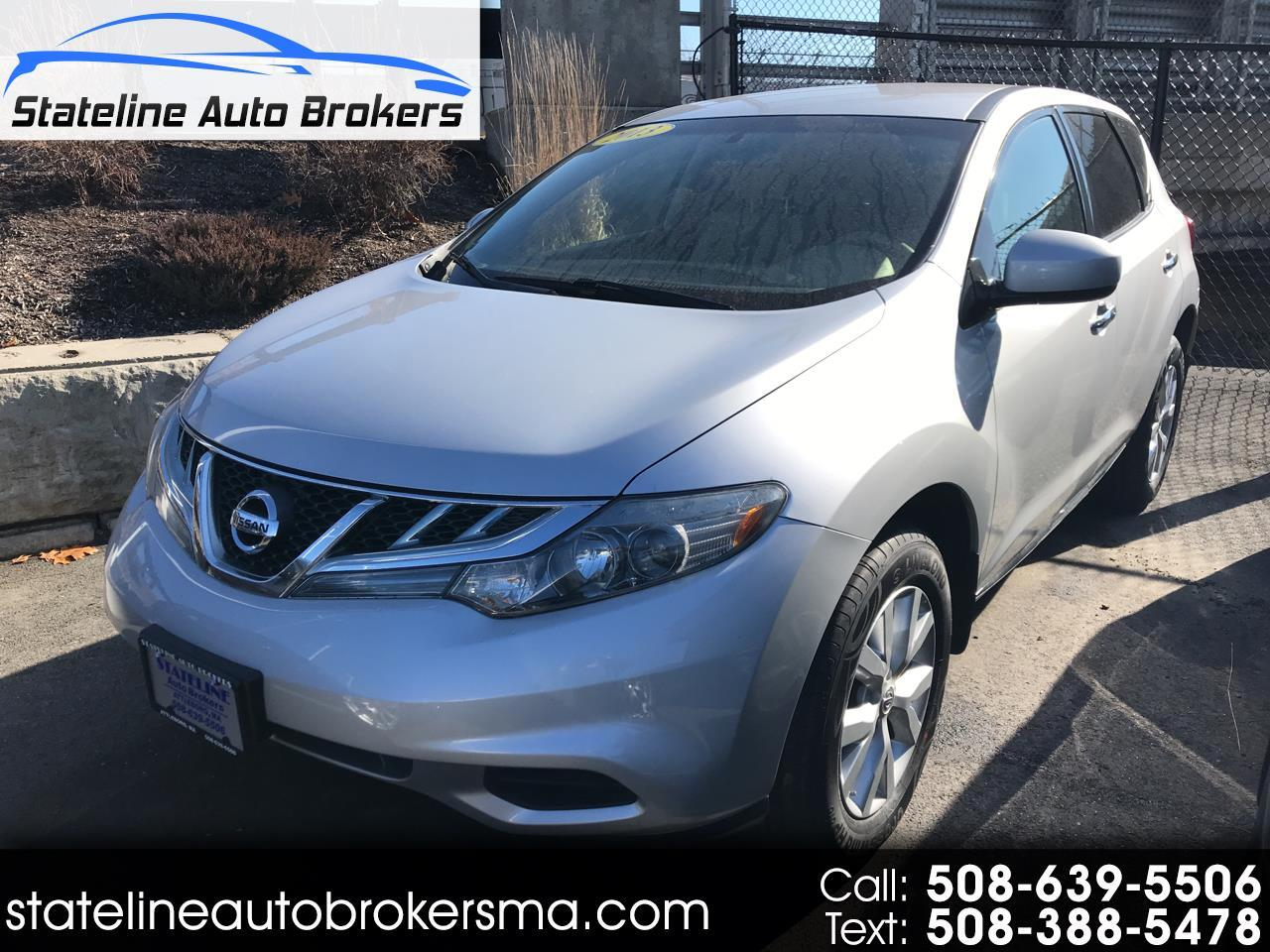 2013 Nissan Murano 2WD 4dr S