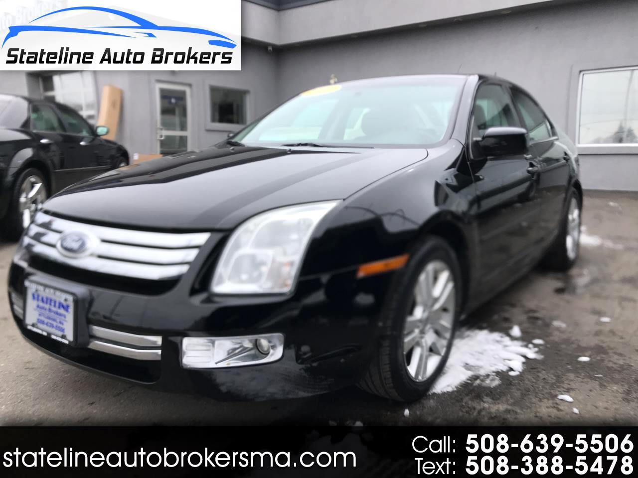 2008 Ford Fusion 4dr Sdn V6 SEL AWD