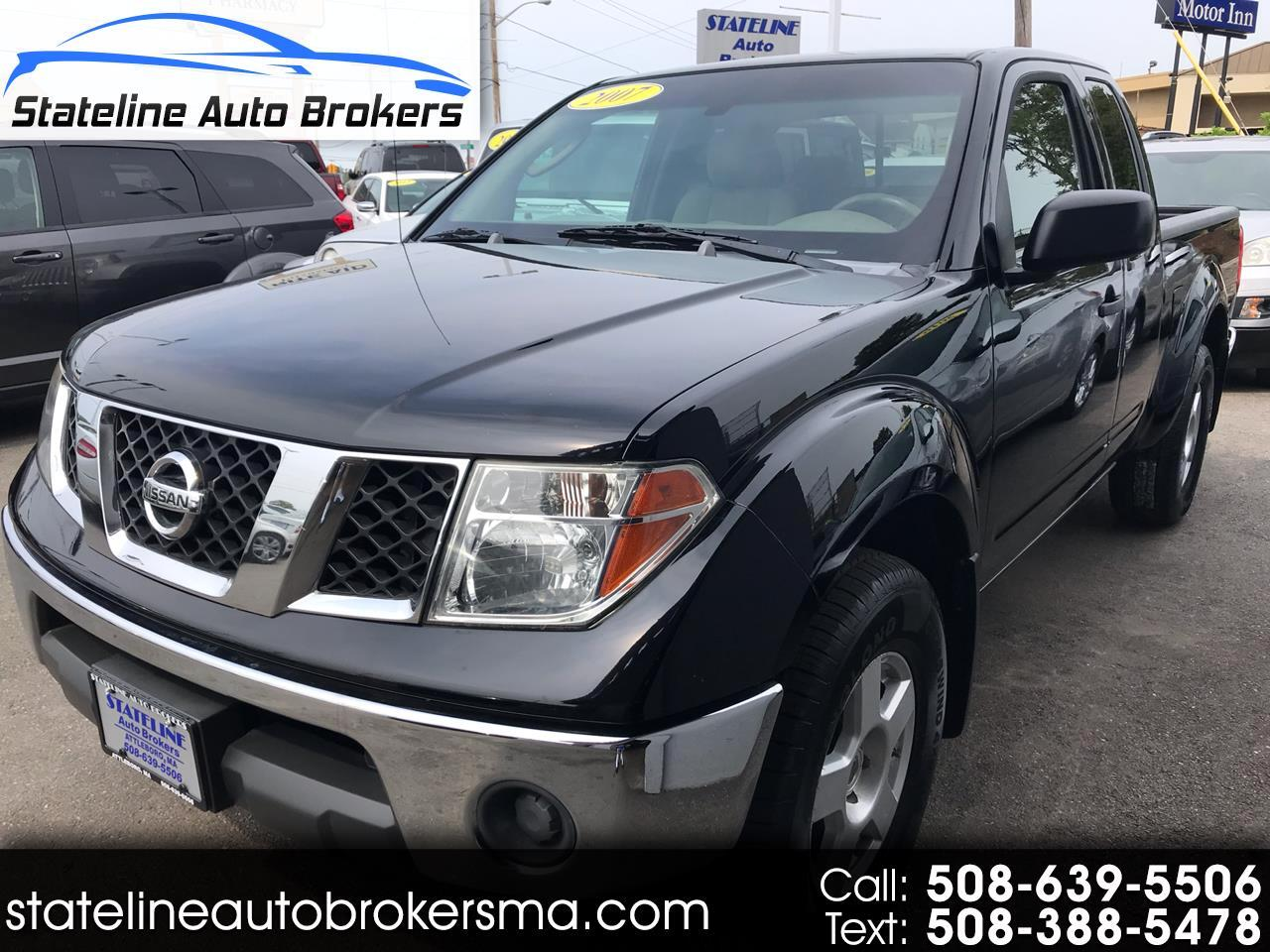 2007 Nissan Frontier 4WD King Cab Auto SE