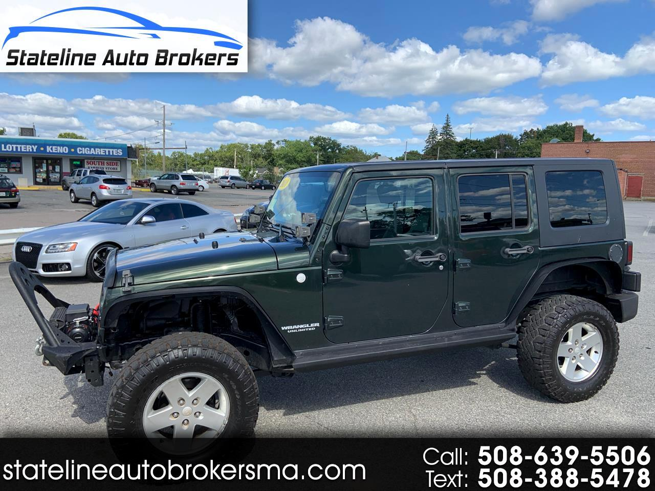 2010 Jeep Wrangler Unlimited 4WD 4dr X