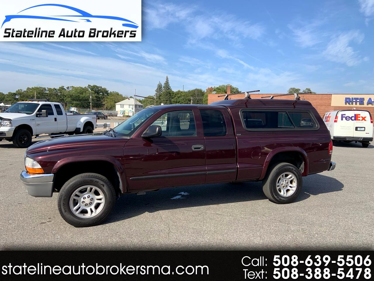 "2004 Dodge Dakota 2dr Club Cab 131"" WB 4WD SLT"