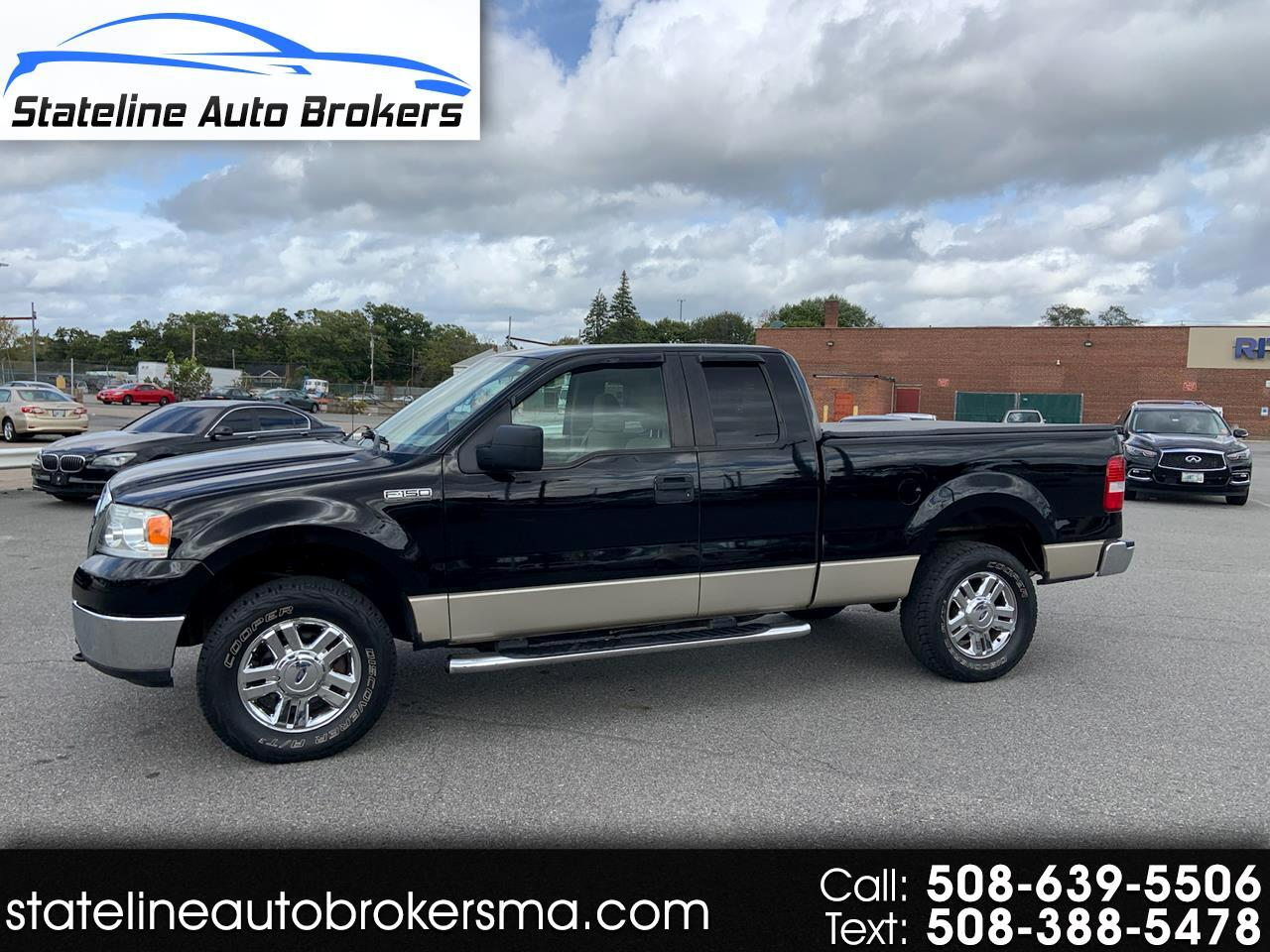 "2008 Ford F-150 4WD SuperCab 145"" 60th Anniversary"