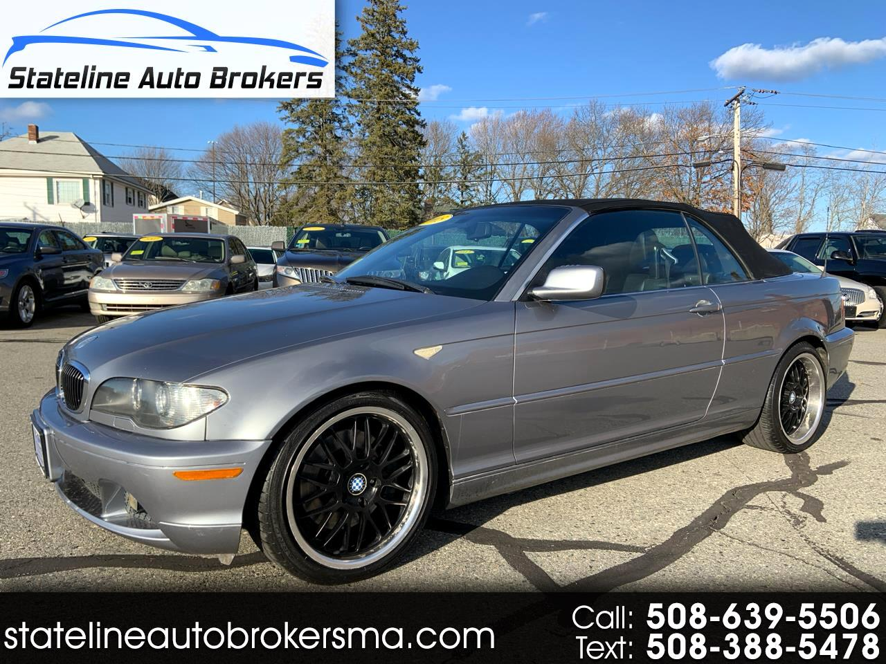 BMW 3 Series 330Ci 2dr Convertible 2005