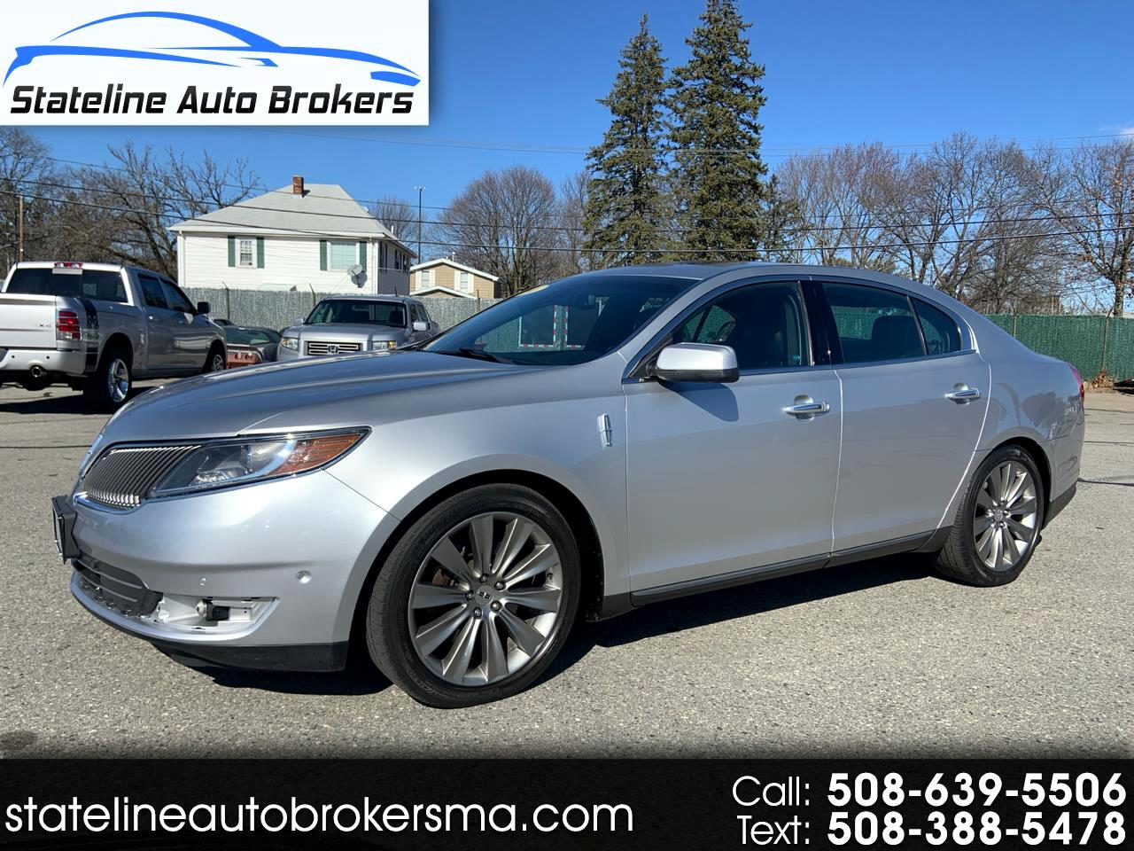 Lincoln MKS 4dr Sdn 3.5L AWD EcoBoost 2013