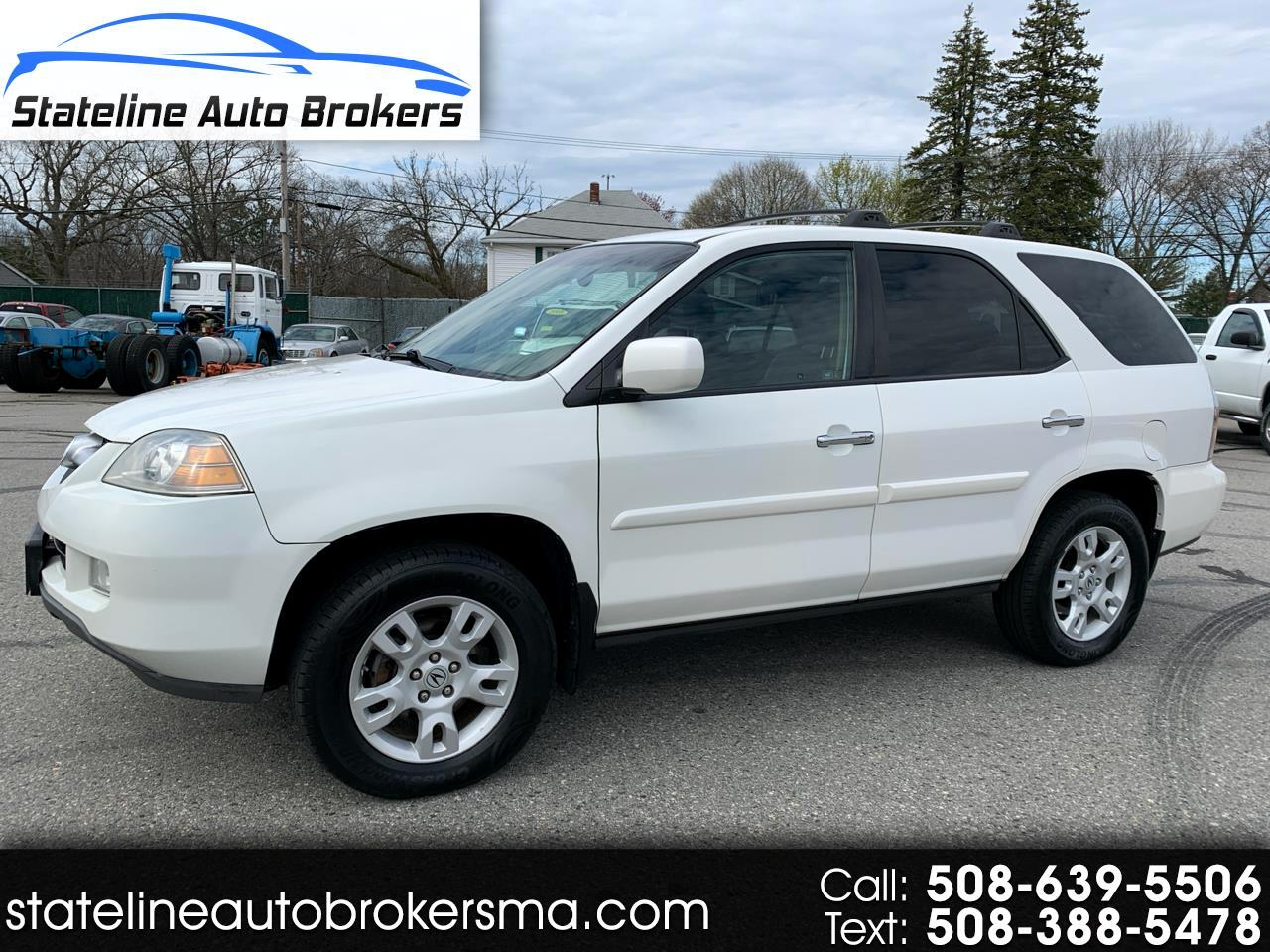 Acura MDX 4dr SUV AT Touring w/Navi 2005