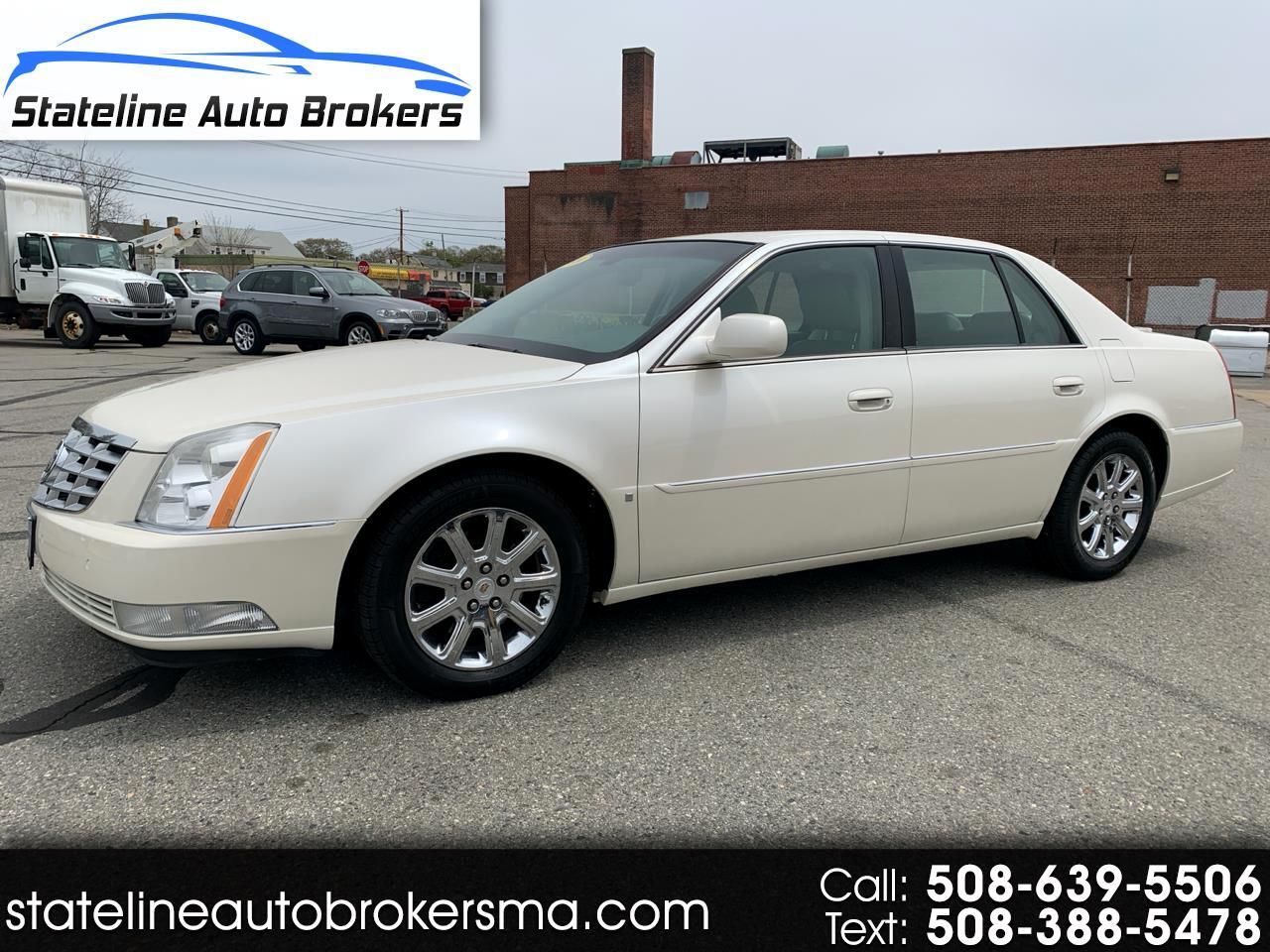 Cadillac DTS 4dr Sdn w/1SC 2009