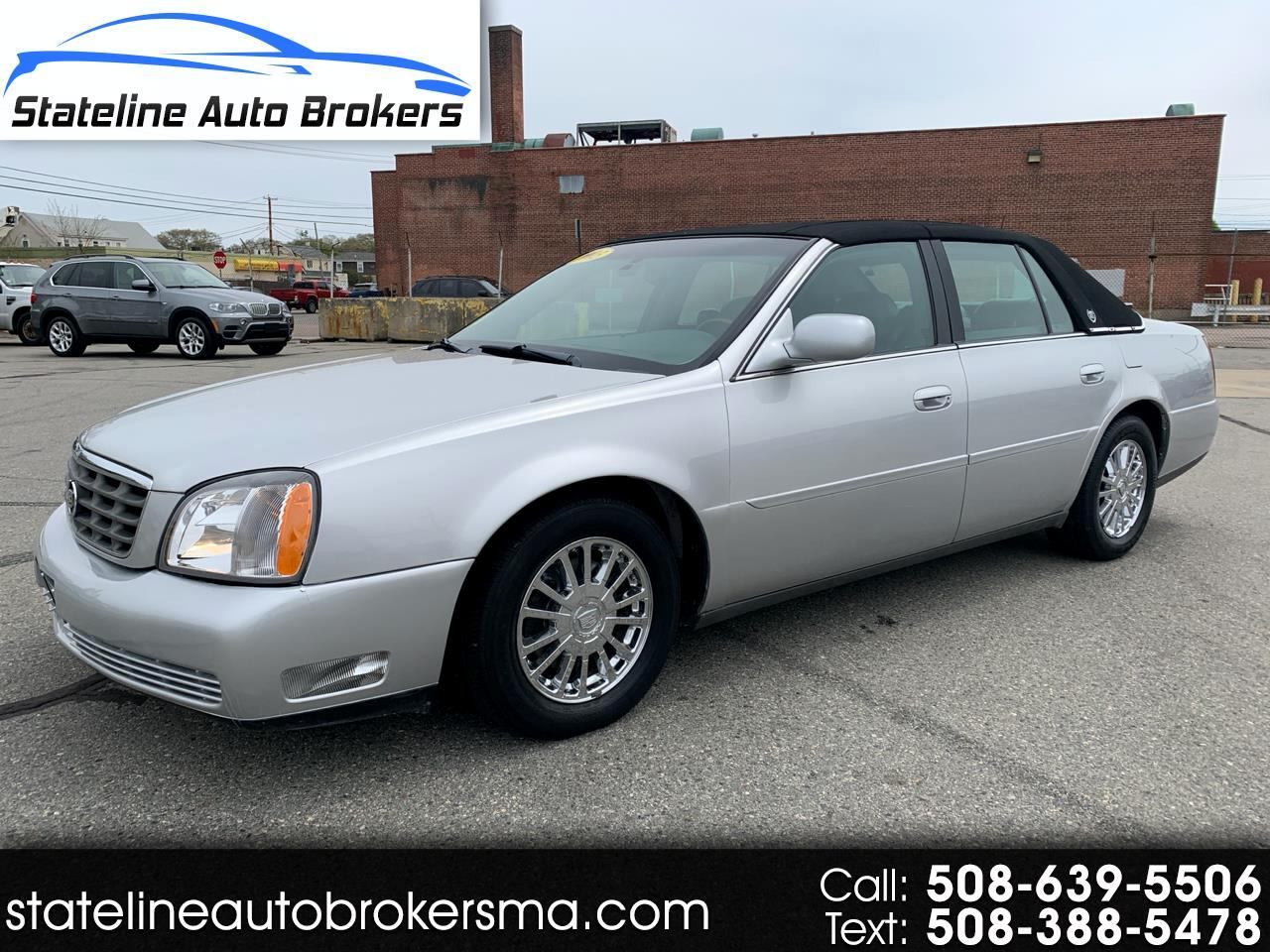 Cadillac DeVille 4dr Sdn DHS 2003