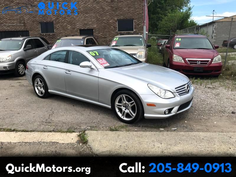 2007 Mercedes-Benz CLS-Class CLS550 4-Door Coupe
