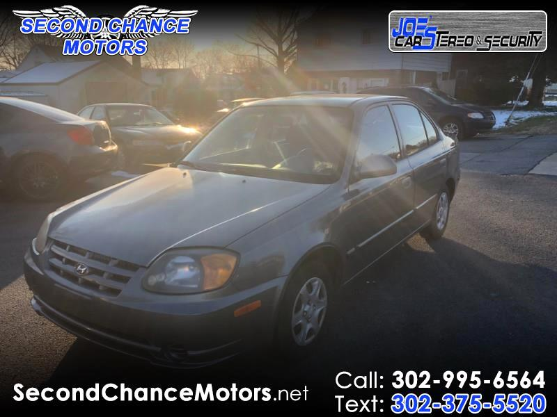 2003 Hyundai Accent GL 4-Door