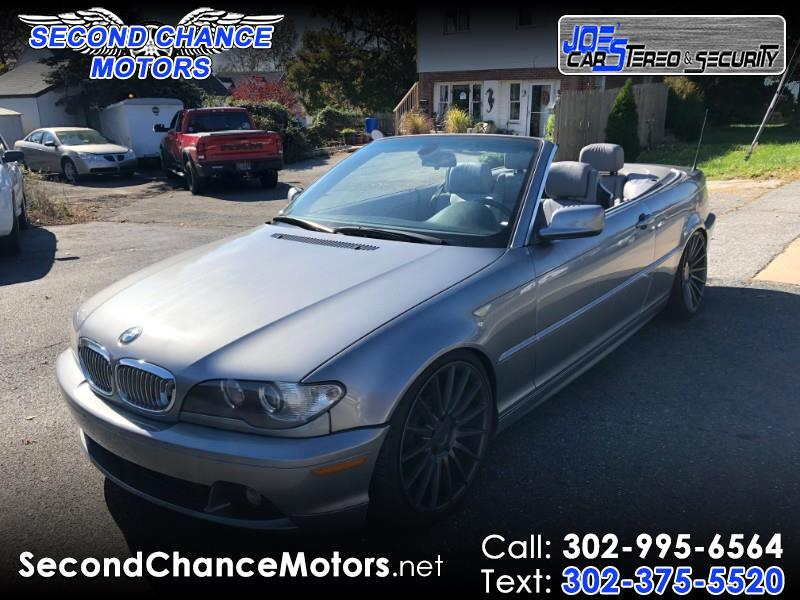 2004 BMW 3-Series 325Ci convertible