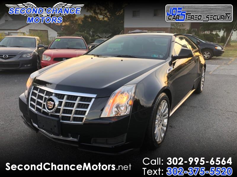 2013 Cadillac CTS Base Coupe