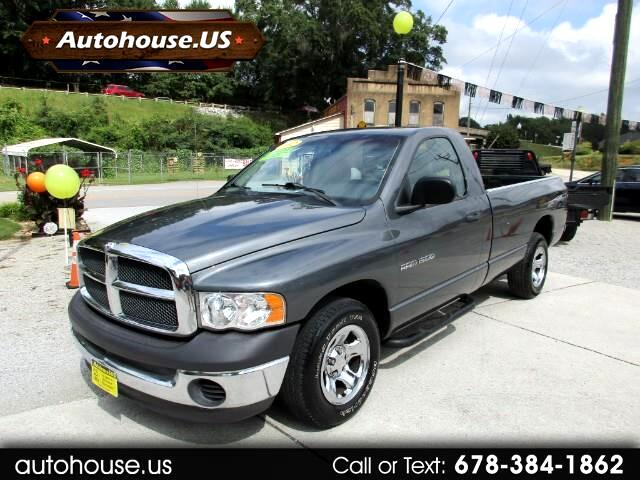 2002 Dodge Ram 1500 ST Long Bed 2WD